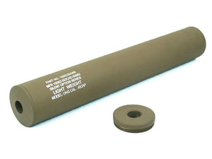 SD - 40 x 245mm (14mm CW/CCW) Light Weight Silencer - TAN