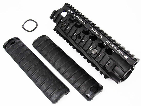 5KU - URX RAS with Rail Cover set for M4 Carbine AEG/GBB - Black