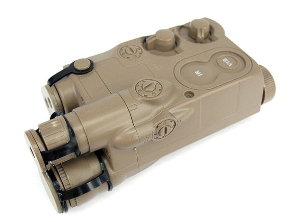 Tokyo Marui - AN/PEQ 16 Style Battery Case with RIS Mount in TAN