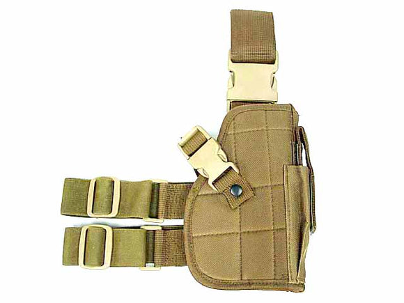 Tactical Drop Leg Holster - Right Handed