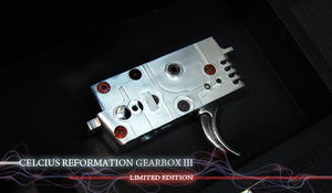 Celcius - CNC Ambidextrous Reformation Gearbox III - Limited Edition - ASB-GBX-RFLE