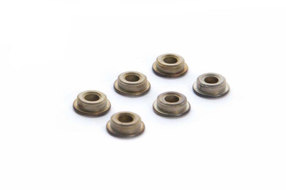 BattleAxe - 6mm Steel Oil-Retaining Bushing (6pcs) for AEGs