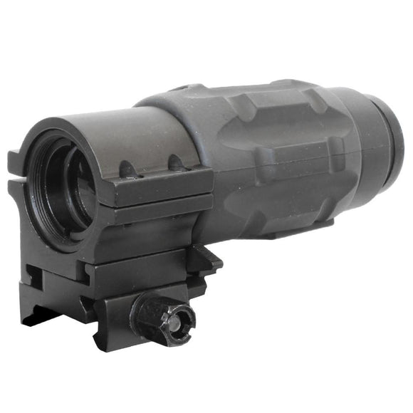 Bravo - 3x Magnifier Scope for Red Dot Sights with Quick Release Mount