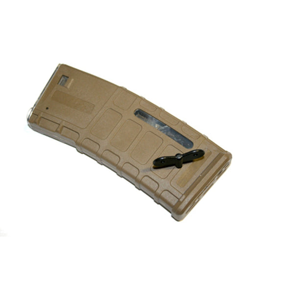 BattleAxe - 300rds P-Style Hi-Cap Magazine (Tan) for M4/M16 AEG Series