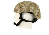 Bravo - Light Weight MICH Style Airsoft Helmet - Digital Desert