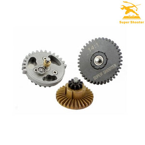 Super Shooter - Precision CNC Steel 14:1 High Speed Gear Set - CL4014