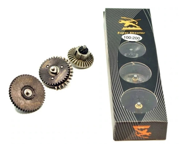 Super Shooter - Super High Torque 100:200 Gear set (Helical Gear) - CL4016