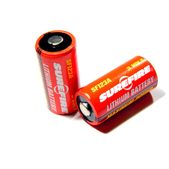 Surefire - CR123A Lithium Battery (1pc)