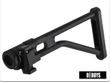 D-Boys - Steel LR300 Skeleton Folding Stock for M4/M16 AEG - DB-M29