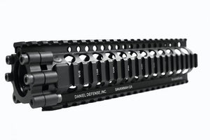 "Madbull - Daniel Defense Licensed LITE rail RAS 9"" for M4/M16 AEG- BLACK"