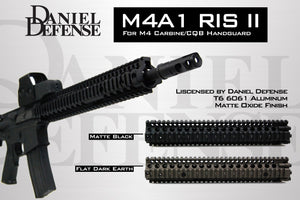 "Madbull - Daniel Defense M4A1 RIS II 12"" SOPMOD for M4/M16 AEG - Black"