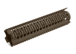 "Madbull - Daniel Defense Licensed Omega rail RAS 12"" for M4/M16 AEG - FDE"