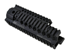 "Madbull - Daniel Defense Licensed OmegaX rail 7"" FSP for M4/M16 AEG - Black"