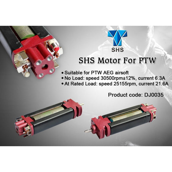 SHS - Motor for PTW Airsoft - DJ0035