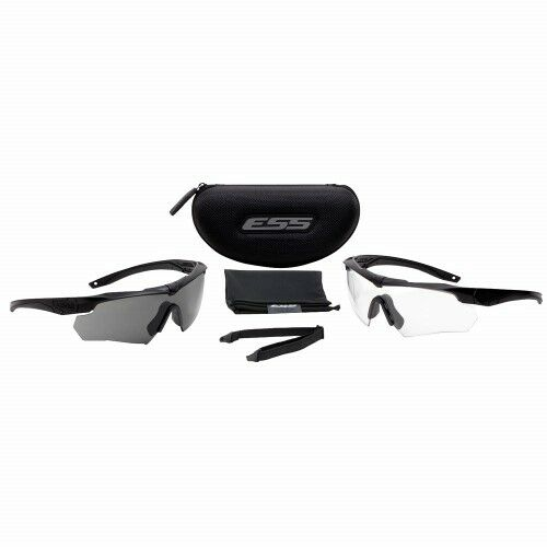 ESS - Crossbow 2X Eyeshields (Clear & Smoke Gray Lenses) - 740-0504