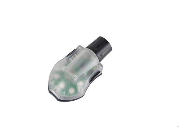 Element - Helmet Signal LED Strobe Light - IR Green/Shell Black - EX262GB