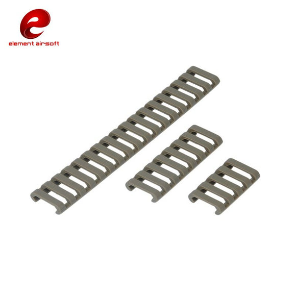Element - 18 Slot Ladder Rail Cover in FG - EX330-FG