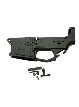 FCC - CNC MP Lower Receiver AMBI Bolt system for PTW/CTW Series - Black (Cerakote)