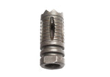 SHS - Troy Style (14mm CCW) Steel Flash Hider for AEG