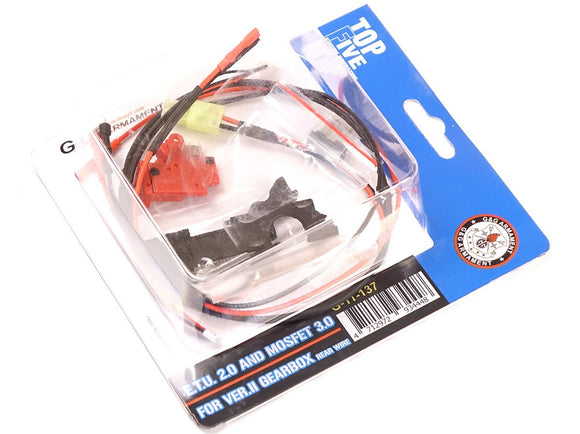 G&G - ETU 2.0 and Mosfet 3.0 fer Ver.2 Gearbox (Rear Wire) - G-11-137
