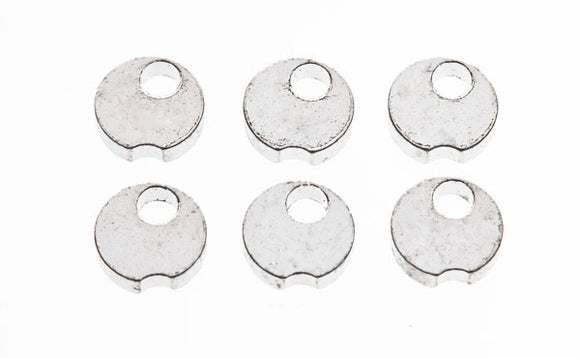 Lonex - Steel Delay Gear Sector Clip (6pc) - GB-01-44