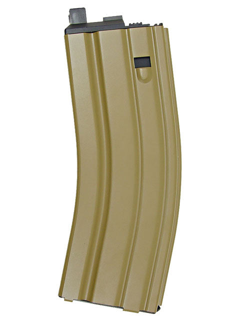 WE - 30rds M4 GBB Metal Magazines for Closed Bolt - Tan