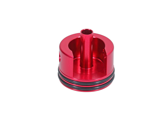 SHS - CNC cylinder head for AK (Short) with rubber mat - Red - GT0014R