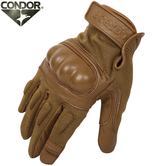Condor - Nomex Hard Knuckle Tactical Glove in Coyote Tan - HK221-003
