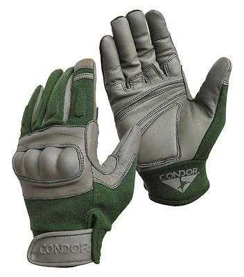 Condor - Nomex Hard Knuckle Tactical Glove in Sage Color - HK221-007