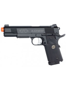 KJW - Fully Licensed Blackwater M1911 GBB Airsoft Pistol