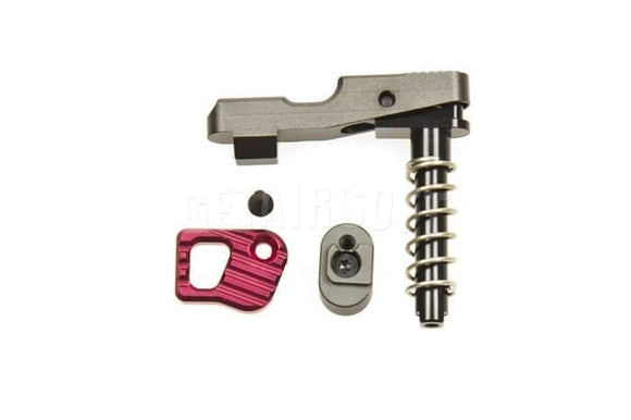 SHS - Ambi Magazine Catch Release M4/M16 AEG Series - Red
