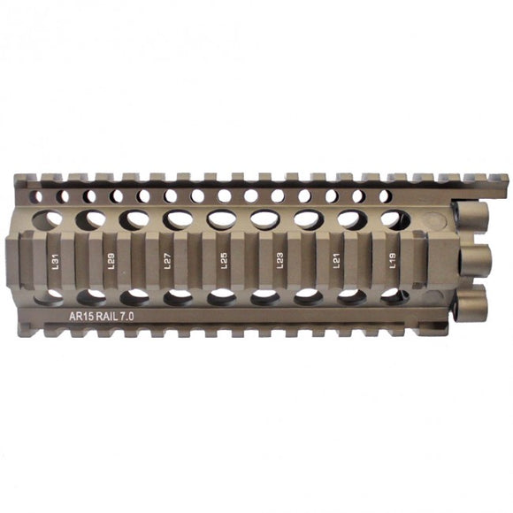 Madbull - Daniel Defense Licensed LITE rail 7