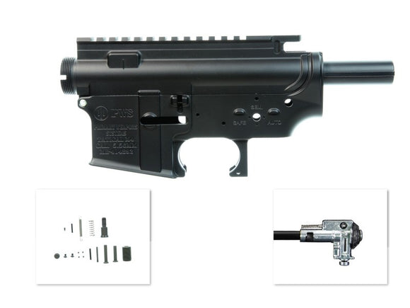 Madbull- Metal Body Version 2 with PWS logo for M4/M16 AEG - Black
