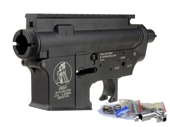 Madbull - Metal Body Version 2 with Troy Logo for M4/M16 AEG - Black