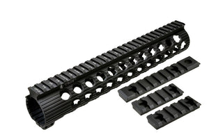 "Madbull - Troy TRX Battle Rail  11"" for M4/M16 AEG- Black"