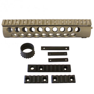 "Madbull - Troy TRX Battle Rail  9"" for M4/M16 AEG - FDE"