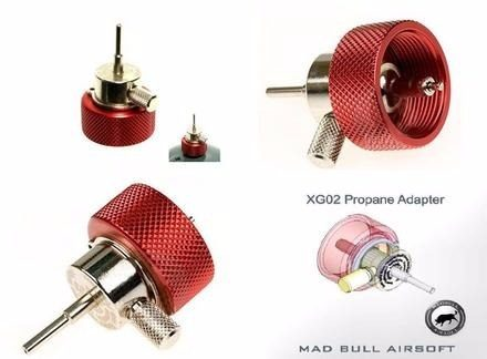 MADBULL - ULTIMATE PROPANE ADAPTER W/ OILER - XG02