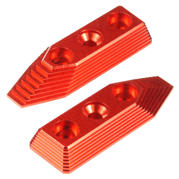MAXX  - CNC Alu Barrel Screw Support (Style B) for VFC SCAR-L/H AEGs in Red Color - MX-BSS007SBR