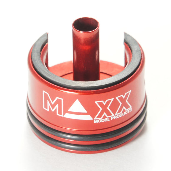 MAXX - CNC Aluminum Cylinder Head with double airseal and damper - MX-CYL001CHS