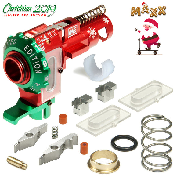 MAXX - CNC Alum Hopup Chamber ME-PRO (Limited Edition Red)-MX-HOP005PRE