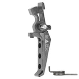MAXX- CNC Aluminum Advanced Trigger (Style E) for V2 Gearbox - MX-TRG002SE