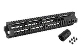 "Madbull- Noveske 12.658"" Free Float for M4/M16 AEG - Black"