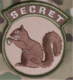 "MM - SECRET SQUIRREL (3.25""x2.8"")"