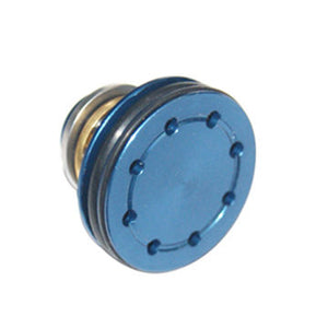 Super Shooter - Double O-ring Aluminum Bearing Piston Head (Blue) for AEG - PT0019