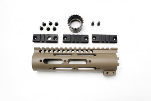 "FCC - MI 7"" Gen2  Free Floating Rail System SS-Series for Systema/PTW - FDE"