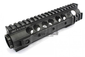 "FCC - 8"" KAC URX3 Style RIS - Black - Airsoft Only!!"
