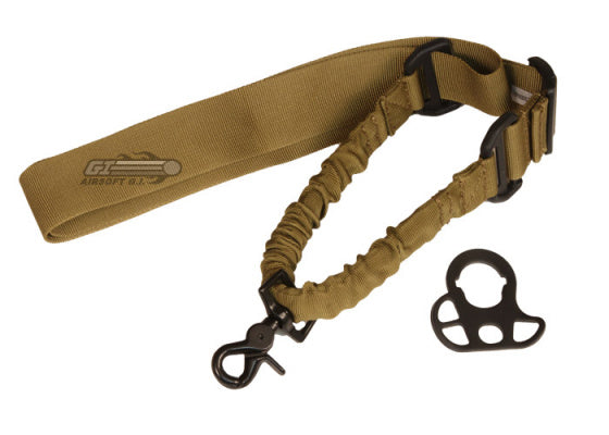 Swiss Arms - Tactical Bungee One Point Sling - TAN
