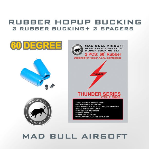 Madbull - Hopup Bucking (60degree) - BLUE