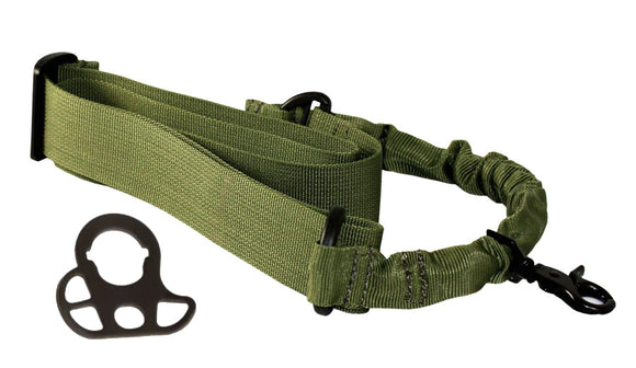 Swiss Arms - Tactical Bungee One Point Sling - OD