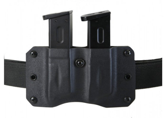 SpetzGear Kydex - Dual Magazine Pouch for M9 Left handed - Black